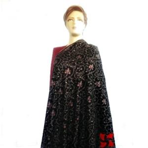 Sia Jalldar Pashmina Shawl Black