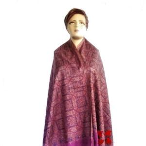 Pashmina Jammawar Shawl Light Pink