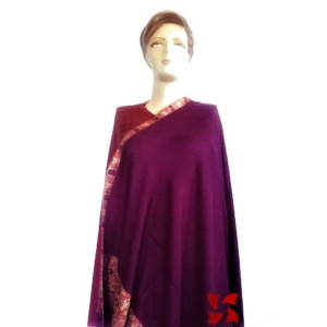 Palldar Pashmina Shawl Purple