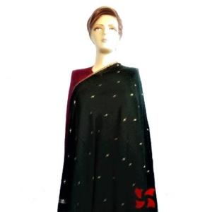 Botidar Pashmina Shawl Black